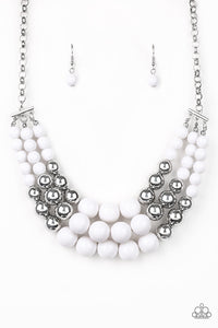 Dream Pop - White - Paparazzi Accessories