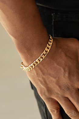 Take It To The Bank - Gold - Paparazzi Accessories