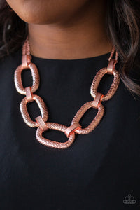 Take Charge - Copper - Paparazzi Accessories