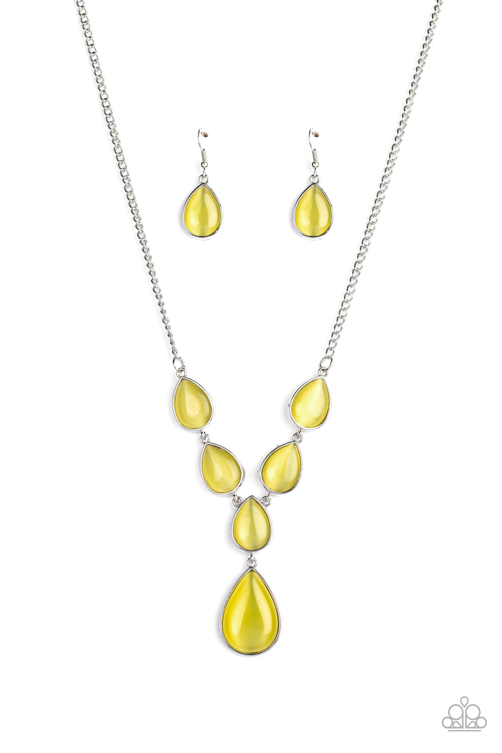 Dewy Decadence - Yellow - Paparazzi Accessories
