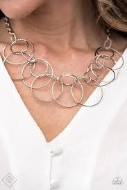 Circa de Couture - Silver Necklace - Paparazzi Accessories