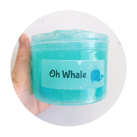 Oh Whale | Thick clear slime