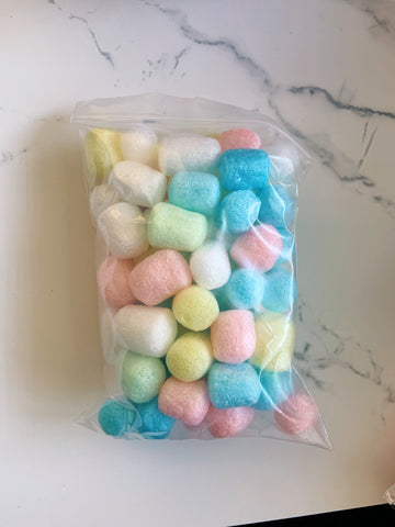 Pastel Packing Peanuts