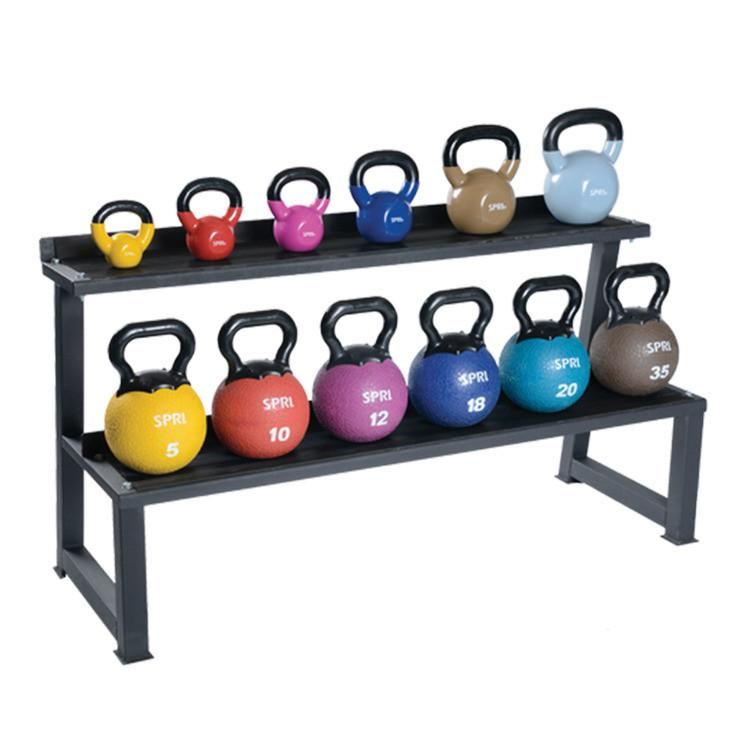 Spri Kettle Weight Rack