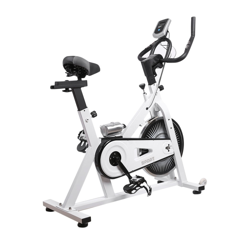 Fitness Cardio Exercise Bike Cycle Workout Gym Machine Trainer Bicycle Cardio Workout Indoor Sports Home Gym