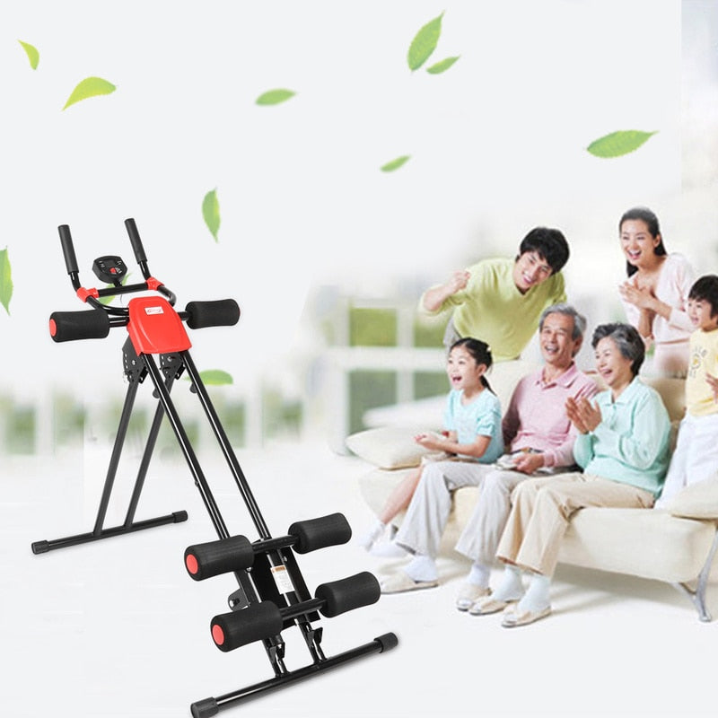 AB Glider Trainer Rail Cruncher Abdominal device lose weight machine Roller Smart Machine Gym Home ABS fitness equipment New HWC