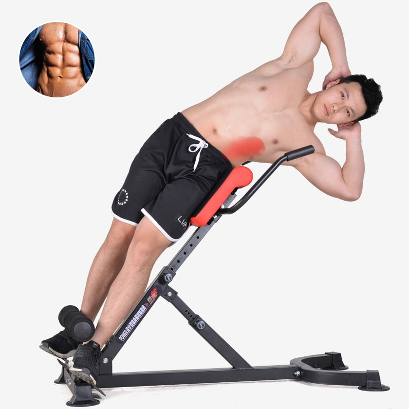 The Roman Chair Stool Fitness Chair Goat Standing Waist, Home Health Abdominal Machine Fitness Equipment Home Gym  Bench