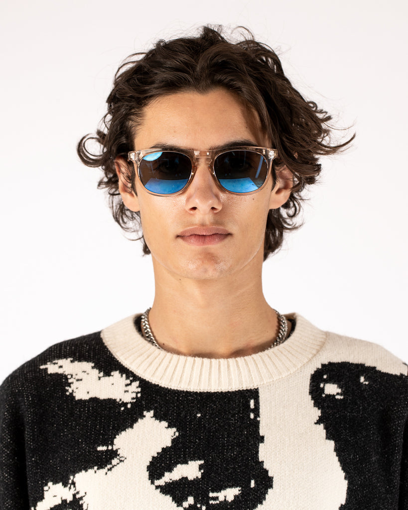 Transparent Logo Sunglasses - Runge