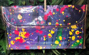 Large Canvas Clutch Bag