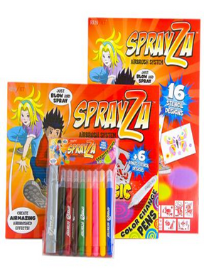 Sprayza Magic Blåsepenner