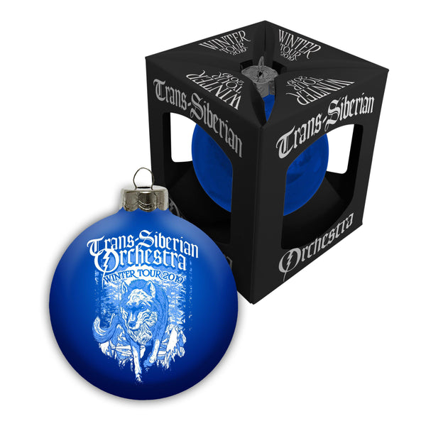Snow Wolf Winter Tour Ornament-Trans-Siberian Orchestra