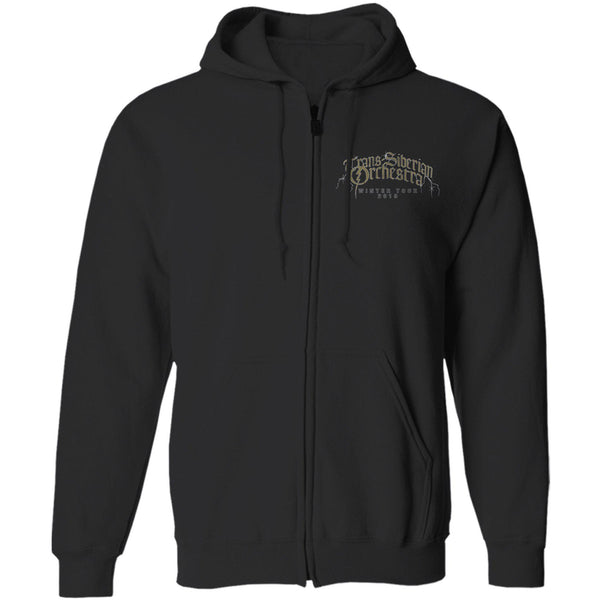 TSO Winter Tour 2019 Guardian Zip Hoodie-Trans-Siberian Orchestra