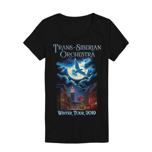 TSO Moonflight Ladies Tour Tee-Trans-Siberian Orchestra