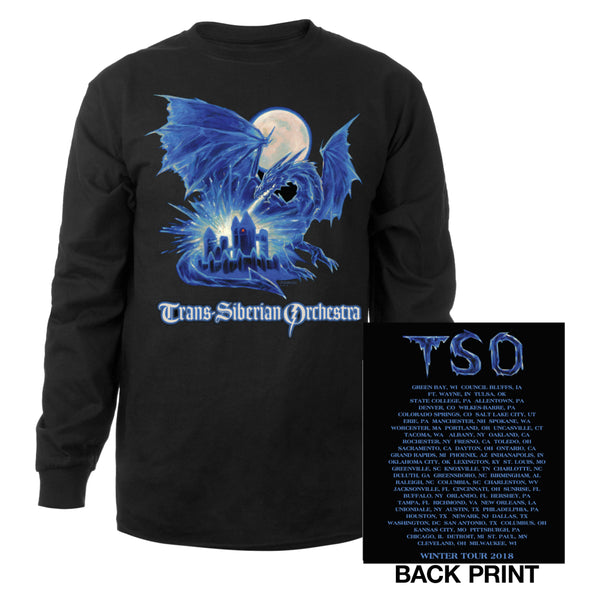 Ice Dragon Long Sleeve Shirt-Trans-Siberian Orchestra