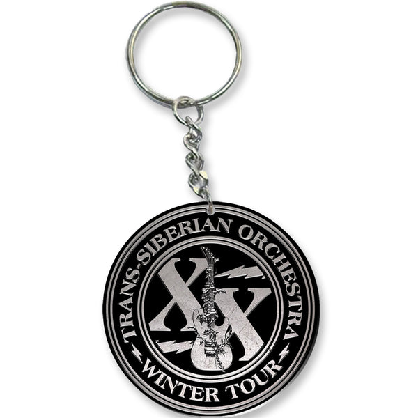 Winter Tour XX Keychain-Trans-Siberian Orchestra