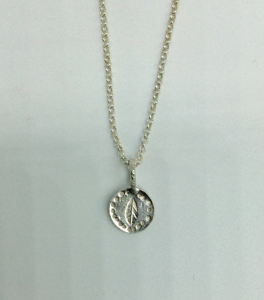 Leaf Of Avalon Necklace