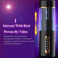 Load image into Gallery viewer, Xtremasterx Oral Vagina Vibrator Voice Aircraft Cup Masturbation Male Blowjob Pussy Sucking USB Charging Wireless Bluetooth Sex Toys For Men