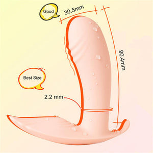 Invisible Wearable Panty Vibrator Heating Wireless Remote Control Clitoral Stimulation Dildo G Spot Vibrator Sex Toys For  Women