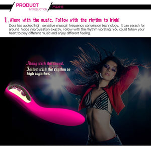 New Silicone 7 Mode G Spot Vibrator for Women USB Rechargeable Luxury Design Sex Toys for Girls Strong Vagina Stimulation Enjoy