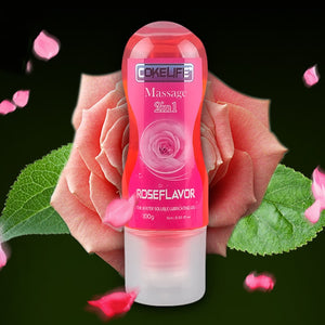 Rose Aroma Stimulating Intimate Lubricant for Sex Lube & Massage Oil 2 In 1 Anal Gel Sex Lubricant Sexual Anal lubrication O3