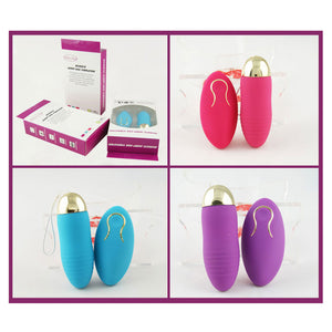 Wireless Remote Control Vibrating Egg Battery Operated Sexual Egg Vibrators Sex Stimulation Toys for Women