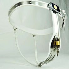 Load image into Gallery viewer, Sale Stainless Steel Female Chastity Belt Sexy Sex Toys Fetish BDSM Bondage Harness Toys, Sex Toys For Woman.