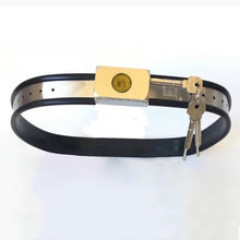 Load image into Gallery viewer, Adjustable Chastity Belt Stainless Steel Metal Waist Band Bondage Restraints For Woman Men Fetish Wear BDSM Tools Sex Products