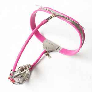 Female Chastity Belt Anal Plug Panty Stainless Steel BDSM Bondage Sex Products Woman Fetish Wear Chastity Device
