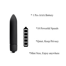Load image into Gallery viewer, 10 Speed Vibrator Silicone Anal Plug Charming White Fox Tail Sex Toys for Men Woman Vibrating Bullet Butt Plug Erotic SM Product