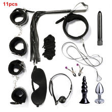 Load image into Gallery viewer, Adult Sex Toys For Couples Bondage Vibrators Set Restraint BDSM Slave Anal Vibrator Plug Flirt Handcuffs Erotic Toys for Women