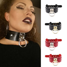Load image into Gallery viewer, Sex Leather Collar and Lead chain Bondage Boutique Adult Game BDSM Slave Collars submission Sex Toys Pet Traction Belt Sex Game