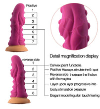 Load image into Gallery viewer, Silicone Round Soft Head Unique Design Dildo Erotic Sex Toys For Women Rotated Inserted Deeply To Expand Vaginal Fetishism
