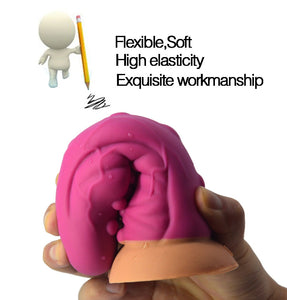 Silicone Round Soft Head Unique Design Dildo Erotic Sex Toys For Women Rotated Inserted Deeply To Expand Vaginal Fetishism