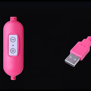 USB Rechargeable Adjustable Double Heads Jump Eggs G-spot Vibrator Bullet Electric Clitoral Stimulation Sex Toys Orgasm Mini Vibrator