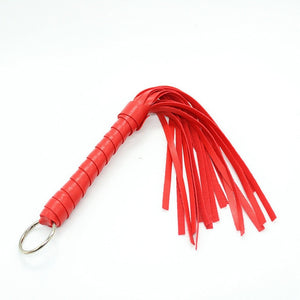 Hot Sexy PU Leather Fetish Spanking Bondage Flogger Porn Sex Whip Short 28,cm Whip Erotic Toys For Adults SM Game Sexy Costumes
