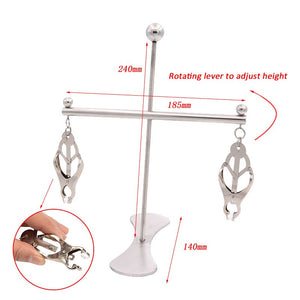 Bdsm Nipple Clamps Clip For Women Torture Nipple Clamps Bondage Slave Adjustable Breast Stimulate Sex Toys For Couples