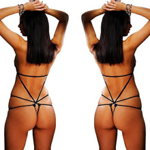 Load image into Gallery viewer, Women's Sexy Underwear Lingerie Lace Baby Doll Sleepwear Sheer Dress G String