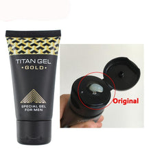 Load image into Gallery viewer, HOT SALE 1pc TITAN GEl GOLD Intimate Gel for Man Penis Enlargement Cream for Dick Growth Thicker Increase Xxl , Sex Long Time