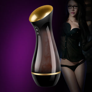 Sweet Interaction Male Masturbation Artificial Vagina Real Pussy Silicone, Sucking Vibrator Sex Toys For Men Pocket Pussy