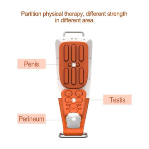 Electric Massages For Penis & Perineum Male Sexual Obstacle Stimulation Therapy - Easy To Wear