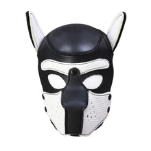 Load image into Gallery viewer, Pup Puppy Play Dog Hood Mask BDSM Bondage Toy Bondage Restraint Hood Mask Fetish Hood Pet Role Play Sex Toys For Couples