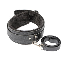 Load image into Gallery viewer, 10 Pcs/Set Sexy Lingerie PU Leather BDSM  Bondage Set Sex Hand Cuffs Foot Cuff Whip Rope Blindfold Erotic Sex Toys For Couples