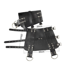 Load image into Gallery viewer, Leather Suspension Special BDSM Bondage Ankle Cuffs Slave Restraint Tools Adjustable Size Sex Toys For Couple Adult Games