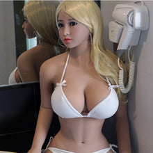 Load image into Gallery viewer, Fat Ass 158cm Real Silicone Japanese Sex Dolls With Big Breast Tight Vagina Anus Mouth Sex Full Silicon Love Doll For Male
