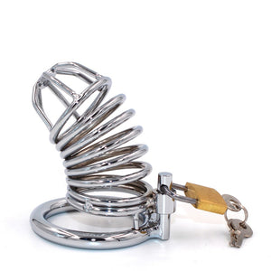Spiral Penis Cage Male Chastity Device Cock Cage metal Chastity Belt Sex Toys