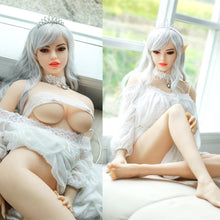 Load image into Gallery viewer, 158cm Full Size Silicone Elf Sex Doll Japanese Adult Love Doll Middle Normal Breasts Real Vagina Oral Anus Sex Toys