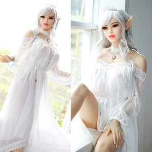 158cm Full Size Silicone Elf Sex Doll Japanese Adult Love Doll Middle Normal Breasts Real Vagina Oral Anus Sex Toys