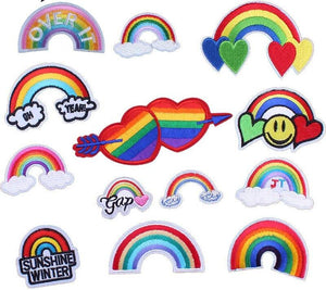 Retro LGBT Patches