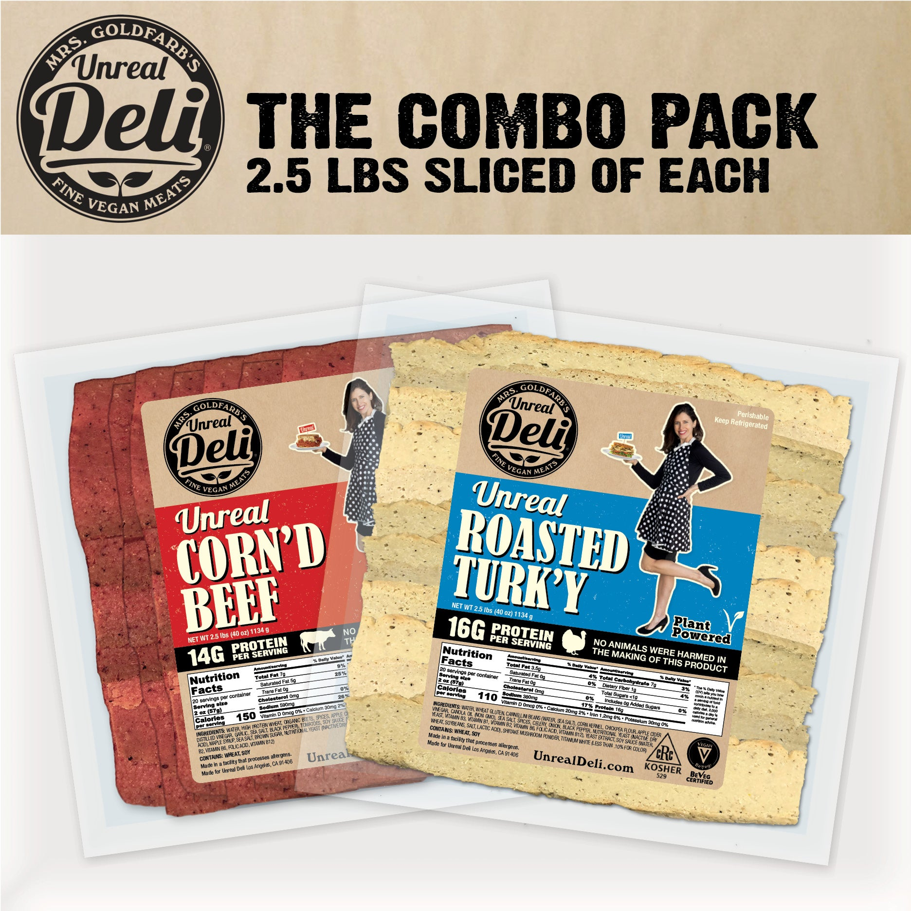The Combo Pack - 5 lbs Sliced