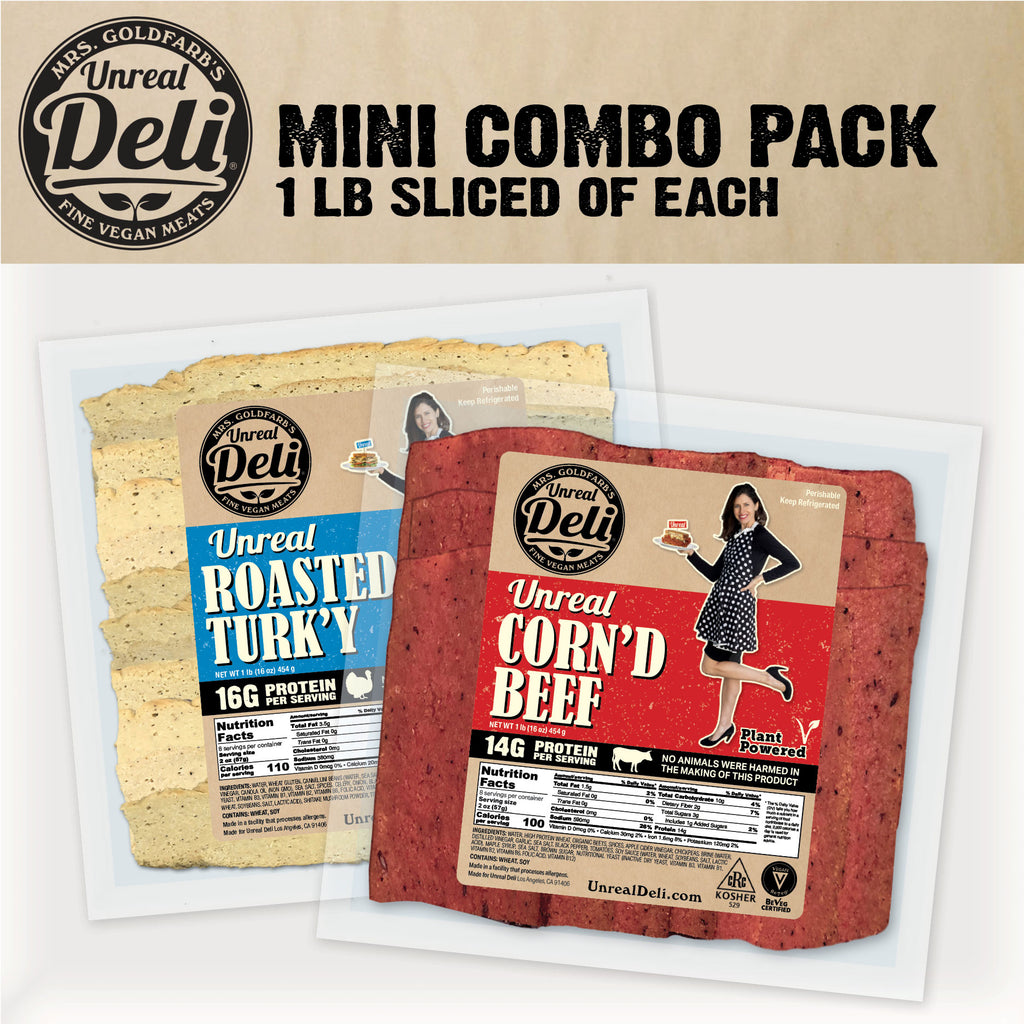 The Mini Combo Pack - 2 lbs Sliced